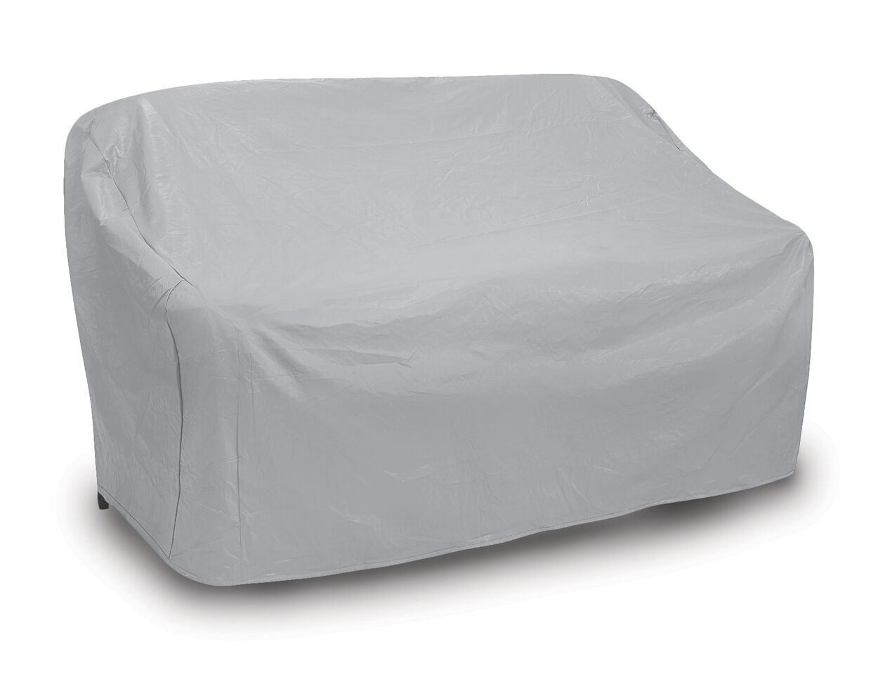 Protective Covers Weatherproof 3 Seat Wicker/Rattan Sofa Cover, X Large, Gray - 1124 by Protective Covers