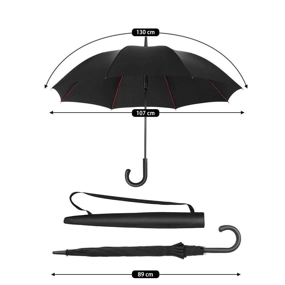 Newdora Parapluie Cannes Noir Noir L