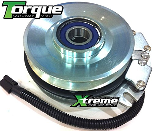 "Xtreme Outdoor Power Equipment Replaces Exmark PTO Clutch 103-0662 - UPGRADED Bearings -Machined Pulley 1"" I.D."