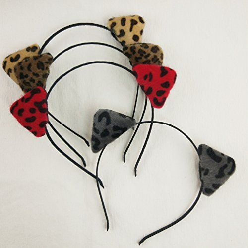 Buy leopard fancy dress ears - 2