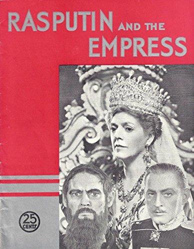 "The Barrymore's""RASPUTIN and the EMPRESS"" Ethel - John - Lionel 1932 Film Souvenir Program"