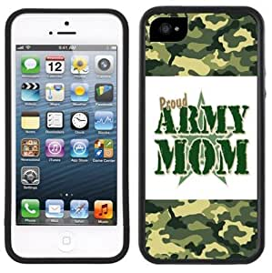 Army Mom Handmade iPhone 5C Black Case