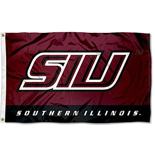 Southern Illinois University - SIU Salukis Southern Illinois University Large College Flag