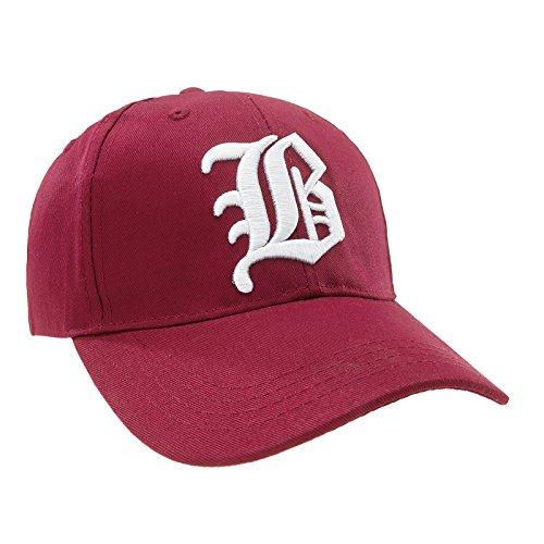 Gorras Gorras Sombreros Unisex De Ltd Romens Béisbol Gothic B B Dark Letter Hombre Mujer White Got y Red Cap Hat IxBY5Pwqn