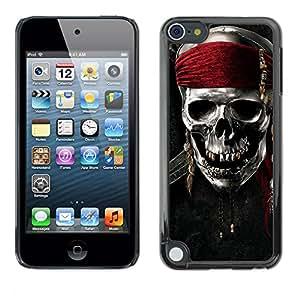 - Skull Devil Diablo - - Hard Plastic Protective Aluminum Back Case Skin Cover FOR Apple iPod Touch 5TH GEN Queen Pattern