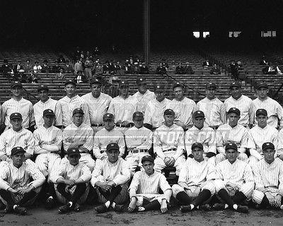 - Vintage 1927 New York Yankees team photo Babe Ruth 8x10 11x14 16x20 photo 064 - Size 8x10