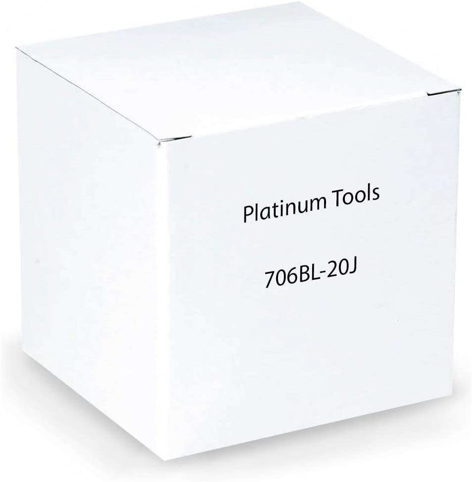 PLATINUM TOOLS 706BL-20J EZ-SNPJCK,CAT6,BLUE,20//JAR