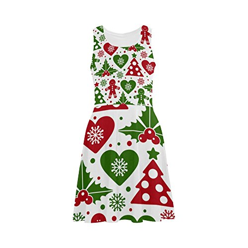 Christmas Tree and Mistletoe Sundress