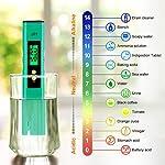 NAOLIU-Misuratore-di-Prova-della-qualita-dellAcqua-PH-Tester-Misuratore-Digitale-Multi-Funzione-Digital-PH-TesterPortatile-PH-test-Risoluzione-del-pH-001-per-Idroponica-Piscina-Acquario