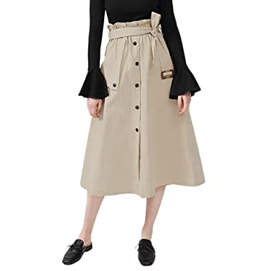 Poachers Falda Pantalon Mujer Larga Vestido Playa Mujer Suelto ...