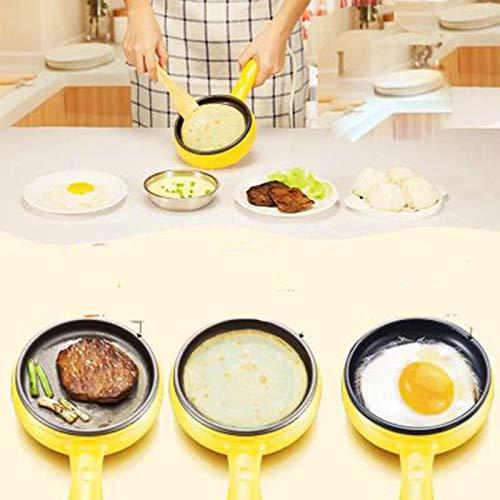 Multifunction household egg omelette Pancake Fried Steak Electric Frying Pan Non- Boiled egg boiler steamer