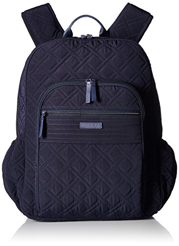 Vera Bradley Women's Campus Tech Backpack, Classic Navy