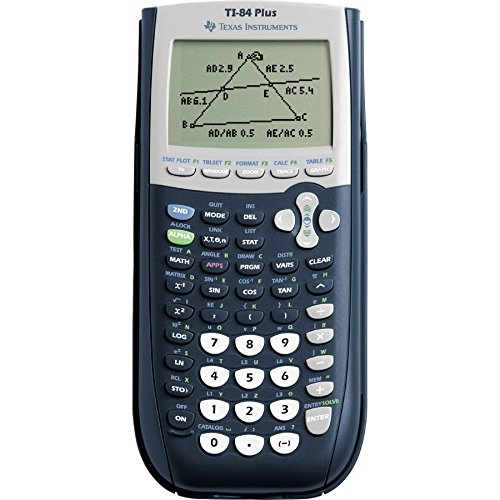 Texas Instruments TI-84 Plus Graphics Calculator-Scientific Calculators
