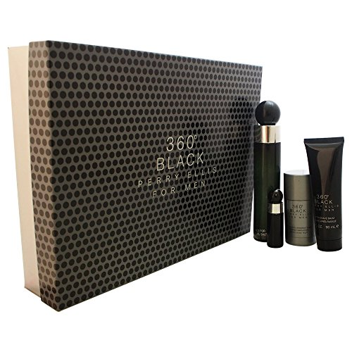 360 Black by Perry Ellis for Men Gift Set by Perry Ellis