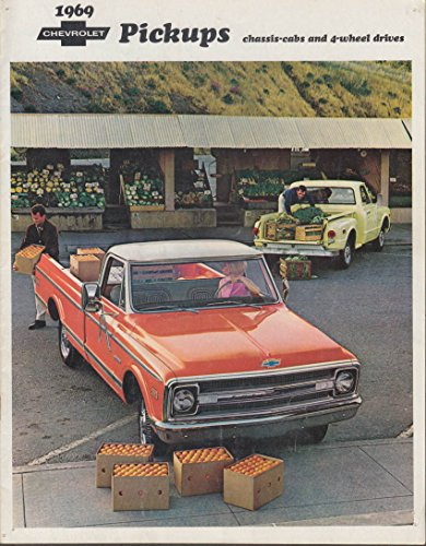 1969 Chevrolet Pickup Chassis-Cab & 4WD sales brochure 1st edition 8/1968