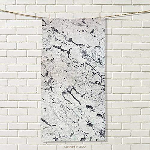 WarmSJS 100% Microfiber Towels,Quick-Dry,Absorbent, Bathroom,Customized,Print,Hand Towel,Travel Towel,Sports Towel,Size: W 35.5