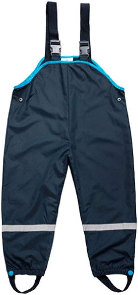 Children Waterproof Rain Pants Overalls 1-7 Years Baby Trousers Kids Fashion