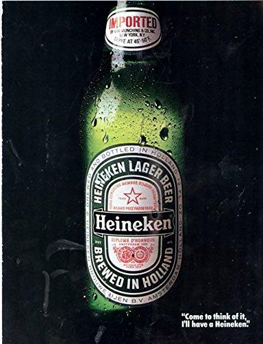 1987-vintage-heineken-beer-magazine-ad-americas-largest-selling-imported-beer-satisfy-your-thirst-fo