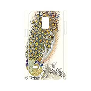 Deluxe Chinese Style Animal Series Hard Plastic Cover for Samsung Galaxy S5 Mini SM-G800 Case
