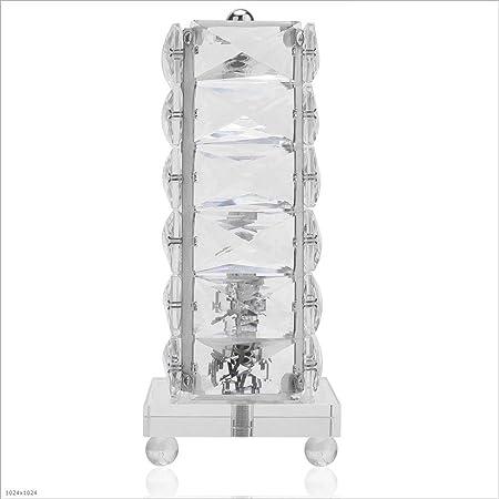 Lámparas de mesa de cristal creativas modernas Lámpara de ...