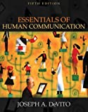 Essentials of Human Communication (with Study Card) (5th Edition) (Myspeechlab (Access Codes)) by Joseph A. DeVito (2005-08-31)