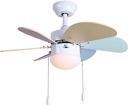 Dazlii Ventilador de Techo, Ventilador LED Lampara Colgante ...