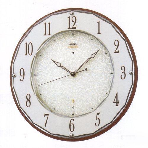 HS524B(濃茶塗装) 電波掛け時計 B0095TMK8M