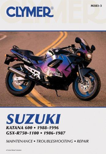 Suzuki GSX-R750-1100 86-96 (CLYMER MOTORCYCLE REPAIR)