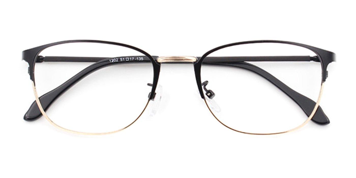 Slocyclub Unisex Superfine Metal Frame Eyeglasses Optical Eyewear