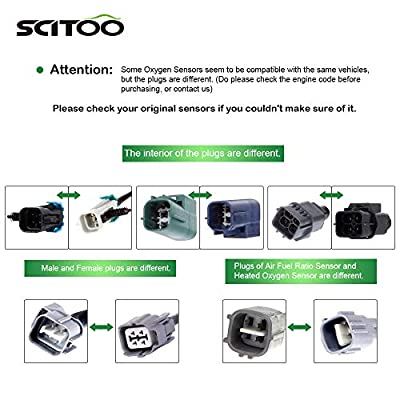 Oxygen Sensor O2 Upstream or Downstream 234-4233 Compatible with 2004-2006 Pontiac Vibe Toyota Matrix/Corolla 1.8L: Automotive
