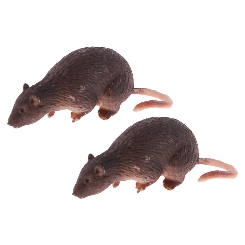 1//6 Scale Miniature Rat Mouse Model for 12/'/' Action Figure Scene Accessories