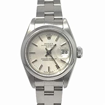 9119187295aa7 Image Unavailable. Image not available for. Color  Rolex Date  Swiss-Automatic Female Watch 79160 ...