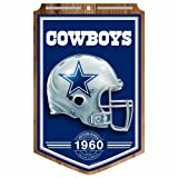 NFL Dallas Cowboys 11-by-17 Wood Sign Traditional Look