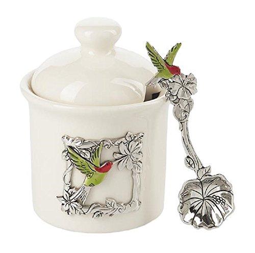 Ganz Kitchen Ceramic Condiment Hummingbird product image