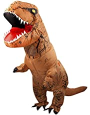 T-rex Dinosaur Costume Adult Halloween Suit Cosplay Fantasy Inflatable Costumes for Birthday Party Carnival