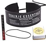 Prairie Essentials 3x20 inch Strip Wrap Around Heating Pad Warming Heat Mat & Thermometer for Kombucha Tea & Beer Brewing, Fermentation, Seedlings & Plant Germination (1, 3'' x 20'')