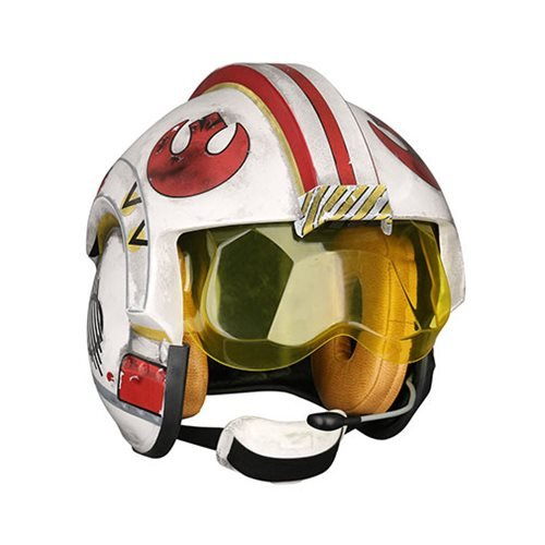 (Star Wars Luke Skywalker Rebel Pilot Helmet Prop Replica)