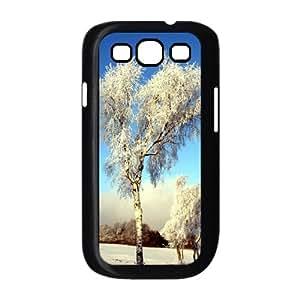 JJZU(R) Design Brand New Phone Case with Snow Scene for Samsung Galaxy S3 I9300 - JJZU908419
