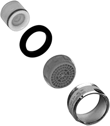 hansgrohe 88745000 1.5Gpm Aerator Checkvalve and Housing, Chrome - Faucet Aerators And Adapters - Amazon.com