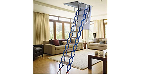 Escalera para áticos (tamaño: 2-3Metres): Amazon.es: Bricolaje y herramientas