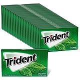 Trident Spearmint Sugar Free Gum, 24 Packs of 14