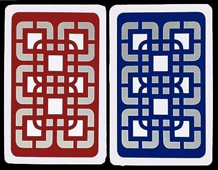 Amazon.com: Baron all-plastic Bridge Sized Playing Cards – 2 ...