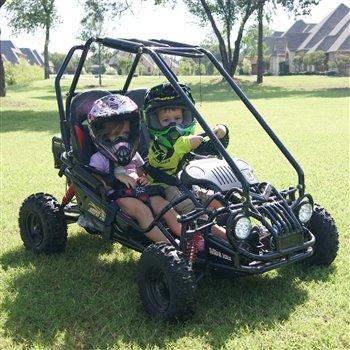 - TrailMaster MINI XRX Kart Blue