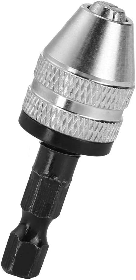 H01334 Hilitand 6,5 mm Bohrfutter Sechskantschaft Elektrischer Schraubendreher Bohrfutter Adapter Quick Change Converter