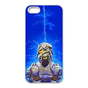 iPhone 5 5s Cell Phone Case White Iron Maiden CCK Rugged Equipment Cell Phone Cases