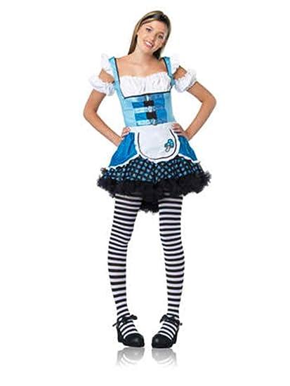 amazoncom uhc girls magic mushroom alice in wonderland teen halloween costume clothing