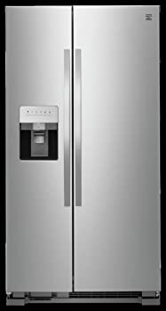 Kenmore 50043 Side-by-side Stainless Steel Refrigerator