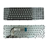 Generic New US Laptop Keyboard with Frame for HP Pavilion 17E 17-E 17-E000 17-E100 17-Exxx 17Z-E 2B-07001Q110 725365-001 AER68U00310 720670-001 AER68U00110, V140546BS1