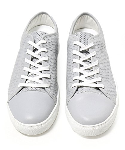 polemica Uomo London Chiaro Grigio Pelle in Grigio Crime Chiaro Sneaker 1qTxwXw4