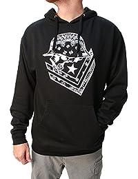 Men's Unsafe Pullover Hoodie Black